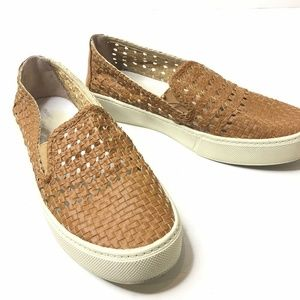 Marc Fisher Savvy Slip On Sneaker Woven Platform